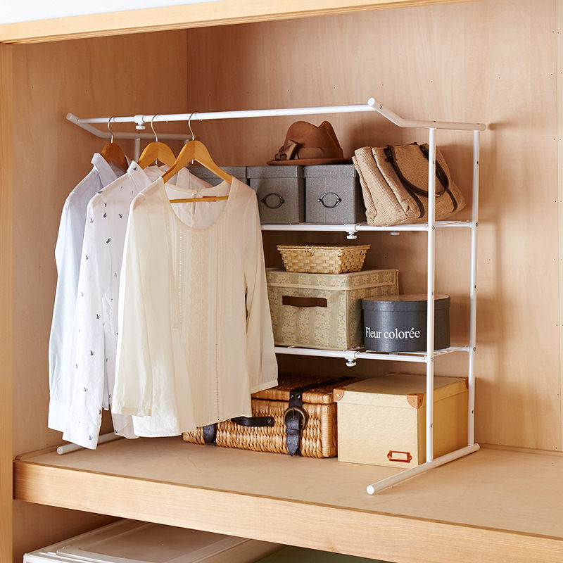 Extension Closet Hanger Shelf