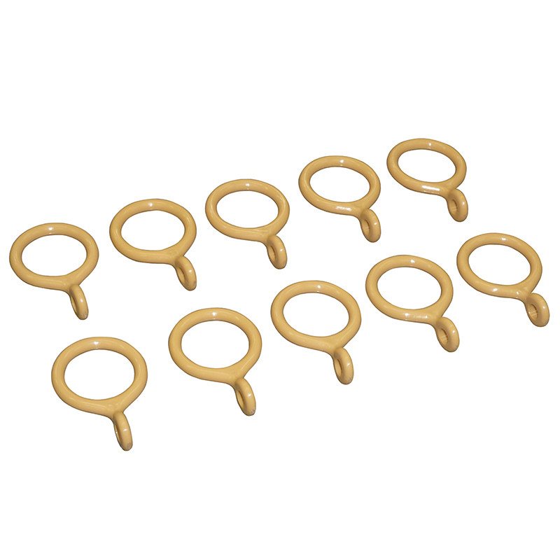 Curtain Ring 19mm Brown