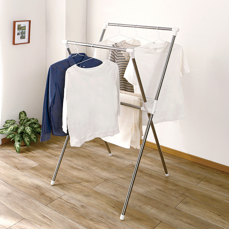 Laundry Stand (Stainless X-Type)