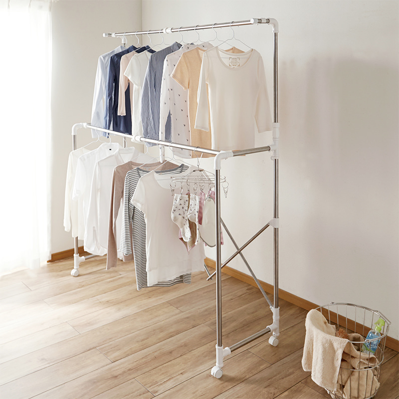 Laundry Stand (Stainless Big-Type)