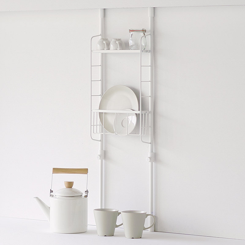 Kitchen Pole Storage Rack set S