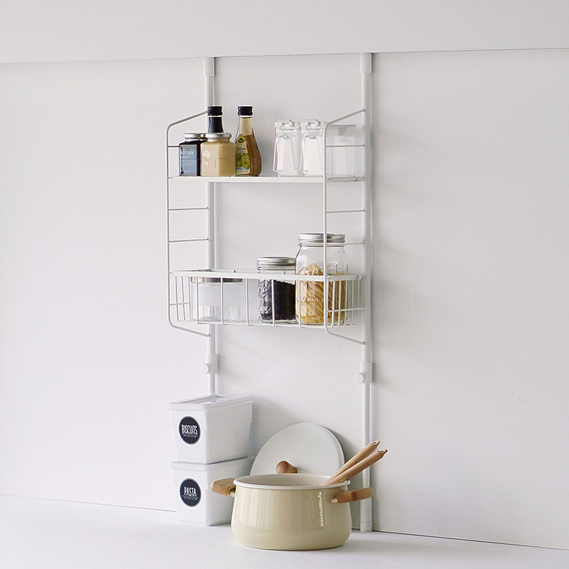 Kitchen Pole Storage rack set M