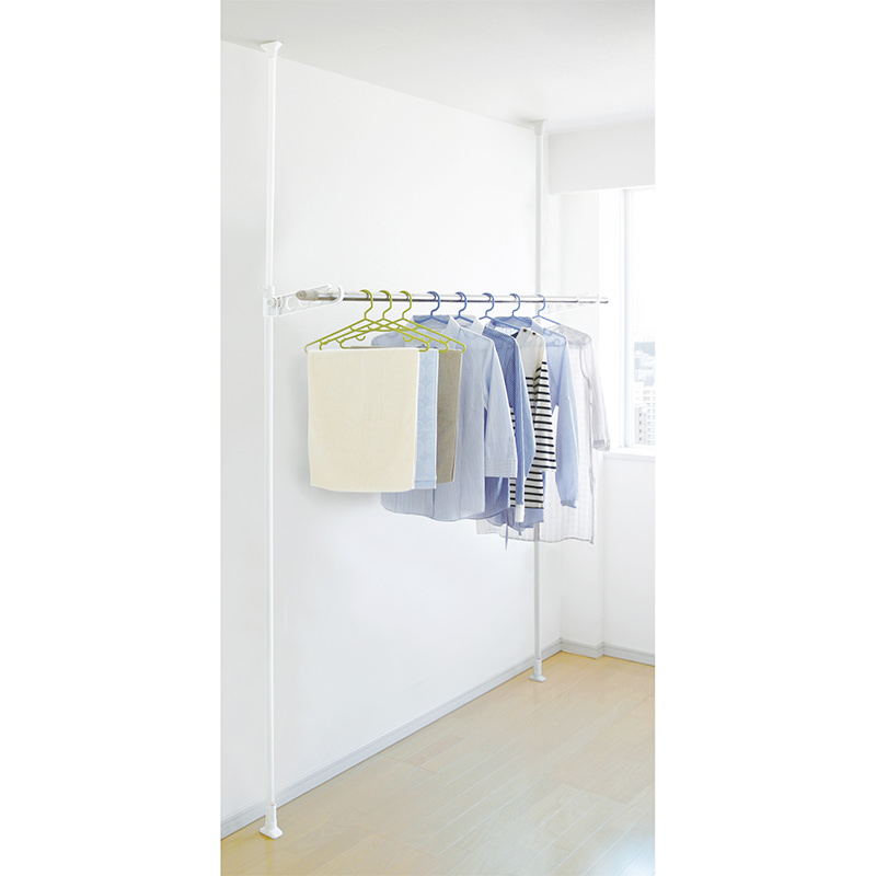1 Tier Laundry Tension Pole